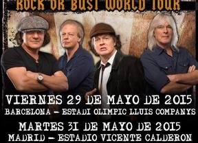 Las entradas para AC/DC en Barcelona y Madrid salen a la venta este jueves