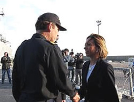 El Gobierno protege la imagen de Chacón, ministra de Defensa, en plena 'guerra'