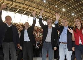 Rubalcaba agradece a González y Guerra el apoyo de los 'Beatles' del PSOE