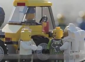 El salto de Felix Baumgartner también tuvo versión Lego
