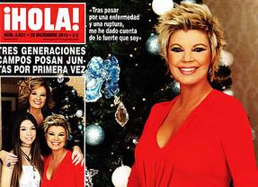 La Navidad de los famosos inunda las portadas de las revistas del coraz�n