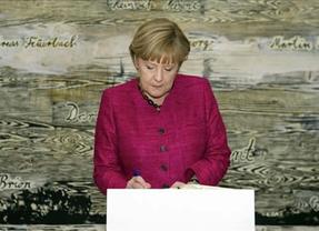 Merkel rechaza ceder más competencias a la Comisión Europea