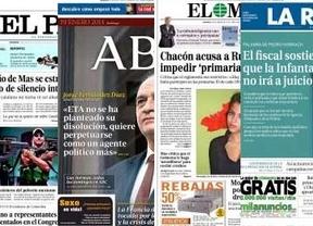 La prensa se divide ante las primarias del PSOE: aplausos o 'Rubalcabato' sin proyecto