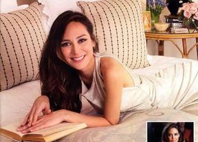 Tamara Falc� convertida en una gran maruja atendiendo su hogar