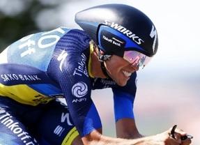 Alberto Contador, optimista en el Mundial de contrarreloj: 'Vengo con el objetivo de conseguir medalla'