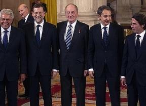 El Rey se reunió con González, Aznar y Zapatero para propiciar un gran acuerdo PP-PSOE