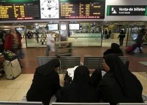 Normalidad en la huelga de trenes: Renfe y Adif cifran en un 0,75% el seguimiento, elevado al 70% por CGT