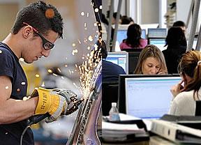 ¿Dónde está el empleo en España? El área comercial genera casi la mitad de la oferta cualificada