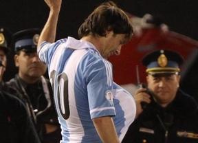 Messi confirma que va a ser padre con una celebración especial