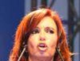 Cristina Fernández salió ilesa del despiste del avión donde viajaba