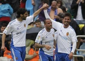 El Zaragoza muestra ante el Athletic sus credenciales para quedarse en Primera (2-0)