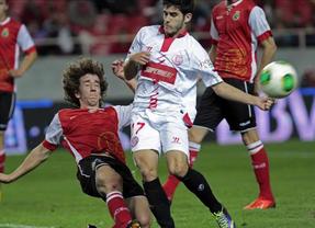 El Racing se apunta al 'alcorconazo' y elimina al Sevilla en su propio estadio (0-2)