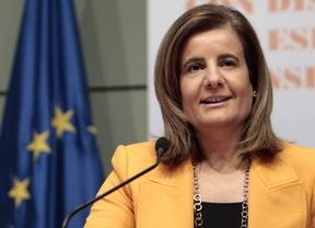Fátima Báñez anuncia que la tarifa plana de 100 euros ha incentivado 160.000  contratos indefinidos