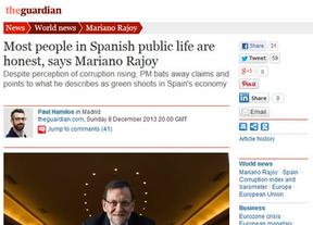 La 'euroentrevista' a Rajoy