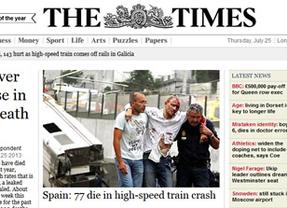 La prensa internacional se hace eco del accidente de tren de Santiago apuntando al exceso de velocidad como causa de la tragedia