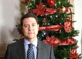 García-Page lanza un mensaje de esperanza en Navidad