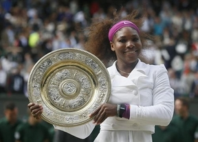 La veterana Serena Williams sigue brillando y se adjudica su quinto Wimbledon