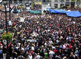 Del 15-M al 12-M: los 'indignados' preparan su aniversario