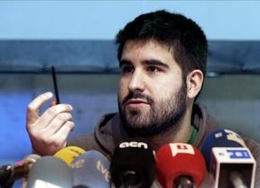 Marc Bertomeu (Podemos): 23 años y 9 micrófonos