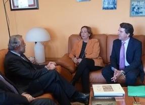 Ramos solicita a Agricultura un proyecto para mejorar el regadío en Talavera y su comarca