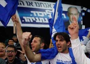 Empate técnico entre el Likud de Netanyahu y Unión Sionista, según los sondeos al cierre de las urnas