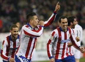 Copa del Rey: dos estocadas rojiblancas a balón parado humillan a un Madrid manso y lo dejan al borde del KO (2-0)