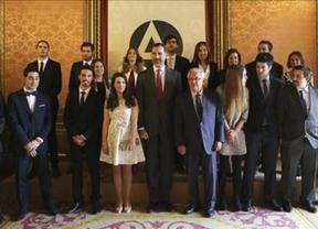 Entrega de premios de la I edición del concurso Educa2020 por parte del rey Felipe VI en marzo de 2015