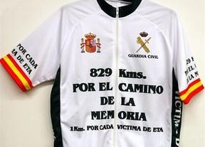 829 kilómetros en bici para homenajear a las víctimas de ETA