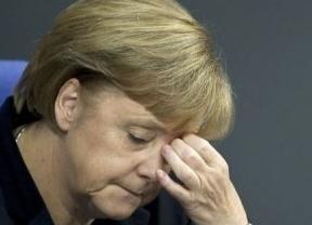 Merkel pide paciencia para salir de la crisis y el euro pierde los 1,30 dólares