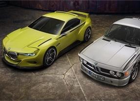BMW exhibe el nuevo 3.0 CSL Hommage que rinde homenaje al 3.0 CSL de los años 70