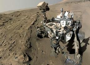El robot Curiosity llega a su objetivo, el Monte Sharp en Marte