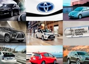 Las ventas mundiales de híbridos Toyota superan los 7 millones de unidades