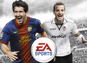 Roberto Soldado, a la altura de Messi en la portada del nuevo 'FIFA 13'