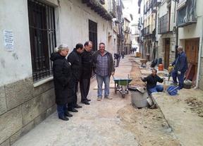 Pastrana renueva su red de saneamiento y distribución