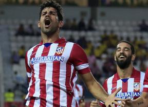 El Atlético comienza a preparar la finalísima contra el Madrid sin Diego Costa ni Arda Turan