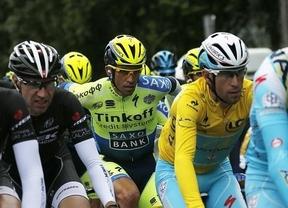 Jornada redonda para Nibali en el Tour: victoria, liderato... y retirada de Contador