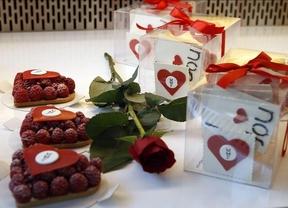 San Valentín se vuelve dulce con los 'cupcakes' y las golosinas más románticas