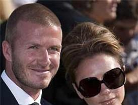 Los Beckham esperan una niña