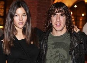 Una pareja 'futbolística' menos: Puyol y Malena Costa han roto