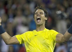 Nadal gana a Djokovic en su terreno y jugará la final contra Raonic