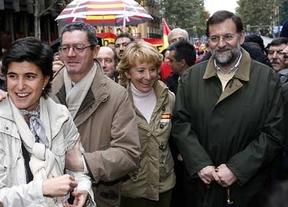 El PP se une oficialmente a la protesta de las víctimas de ETA para desmentir un distanciamiento tras el fallo de Estrasburgo