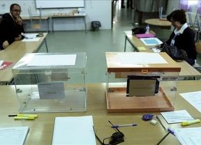 La participación en Castilla-La Mancha a las 14 horas, tres puntos por debajo con respecto a 2011