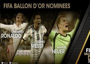 Cristiano, Messi y Neuer, el tr�o final de candidatos al Bal�n de Oro