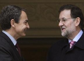 Rajoy se reunió con Zapatero antes de su cita con Felipe González