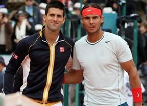 Peligro máximo: Djokovic se pone a tiro de piedra de Nadal, que aún mantiene el número uno del mundo en la lista ATP