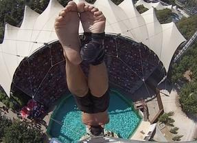 Carlos Gimeno, a hacer historia: se juega ser el primer saltador español que disputa las Series Mundiales