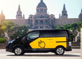 Taxi eléctrico de Barcelona