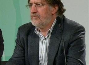 José Antonio Pérez Tapias, portavoz de Izquierda Socialista, presenta su candidatura a la Secretaría General del PSOE