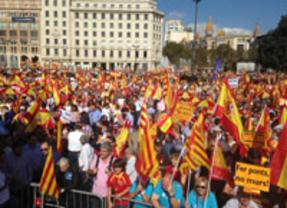 El 12-O se salda sin incidentes en Barcelona