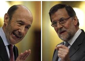 El 'caso Bárcenas' y la economía marcan el inicio de curso político este lunes para Rajoy y Rubalcaba